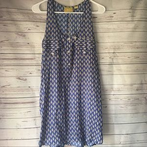 Maeve | Anthropologie Patterned Button Dress